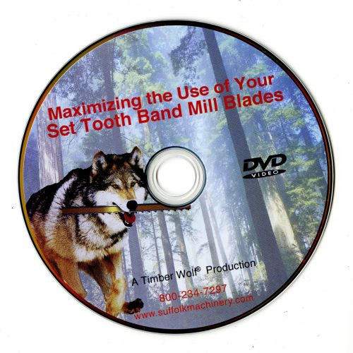 43 Minute Educational DVD - All you need to know about how Band Mill Blades work.